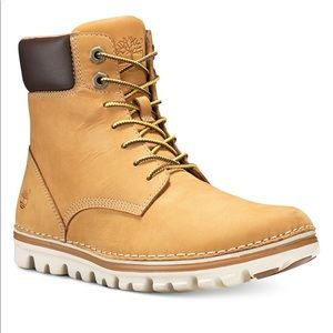 Timberland Brookton lace up leather Boots
